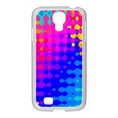 Totally Trippy Hippy Rainbow Samsung Galaxy S4 I9500/ I9505 Case (white) by KirstenStar