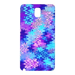 Blue And Purple Marble Waves Samsung Galaxy Note 3 N9005 Hardshell Back Case