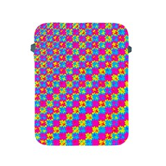 Crazy Yellow And Pink Pattern Apple Ipad 2/3/4 Protective Soft Cases by KirstenStar