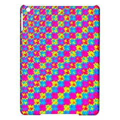 Crazy Yellow And Pink Pattern Ipad Air Hardshell Cases by KirstenStar