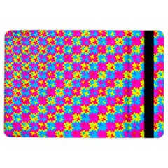 Crazy Yellow And Pink Pattern Ipad Air 2 Flip by KirstenStar