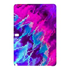 Stormy Pink Purple Teal Artwork Samsung Galaxy Tab Pro 10 1 Hardshell Case by KirstenStar