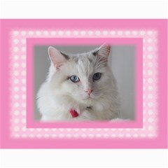 Pretty In Pink 2018 Jan (any Year) Calendar By Deborah   Wall Calendar 11  X 8 5  (12 Months)   N4ny1een7322   Www Artscow Com Month