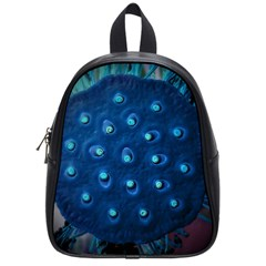 Blue Plant School Bags (Small)  by InsanityExpressed