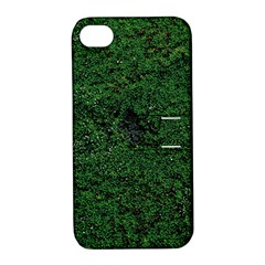 Green Moss Apple Iphone 4/4s Hardshell Case With Stand by InsanityExpressed