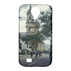 Cathedral At Historic Center Of Bogota Colombia Edited Samsung Galaxy S4 Classic Hardshell Case (pc+silicone) by dflcprints