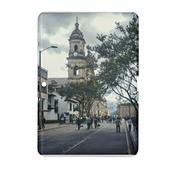 Cathedral At Historic Center Of Bogota Colombia Edited Samsung Galaxy Tab 2 (10 1 ) P5100 Hardshell Case  by dflcprints