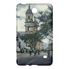 Cathedral At Historic Center Of Bogota Colombia Edited Samsung Galaxy Tab 4 (7 ) Hardshell Case  by dflcprints