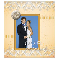 Wedding By Joely   Drawstring Pouch (large)   0rzqmmdit8lz   Www Artscow Com Front