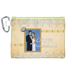wedding - Canvas Cosmetic Bag (XL)