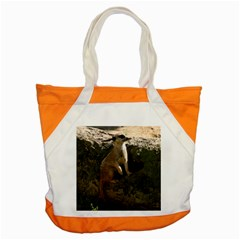 Meerkat Accent Tote Bag  by stineshop