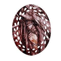 The Bleeding Tree Ornament (oval Filigree)