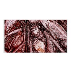 The Bleeding Tree Satin Shawl by InsanityExpressed
