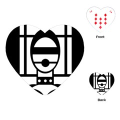Bondage Playing Cards (heart)