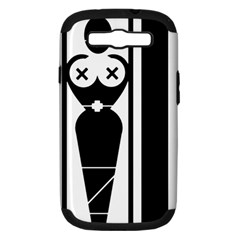 Submissive Samsung Galaxy S Iii Hardshell Case (pc+silicone) by ArtistRoseanneJones