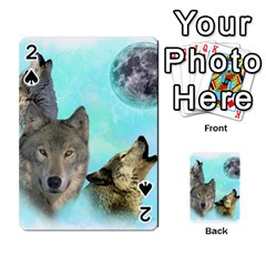 Wolves Shiney Grim Moon 3000 Playing Cards 54 Designs