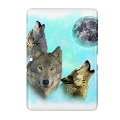 Wolves Shiney Grim Moon 3000 Samsung Galaxy Tab 2 (10 1 ) P5100 Hardshell Case  by ratherkool