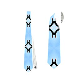 Cute Pretty Elegant Pattern Neckties (Two Side)  by creativemom