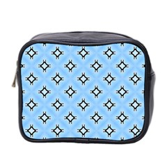 Cute Pretty Elegant Pattern Mini Toiletries Bag 2 Side