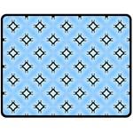 Cute Pretty Elegant Pattern Fleece Blanket (Medium)  60 x50 Blanket Front
