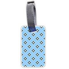Cute Pretty Elegant Pattern Luggage Tags (one Side)