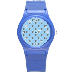 Cute Pretty Elegant Pattern Round Plastic Sport Watch (s)