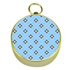 Cute Pretty Elegant Pattern Gold Compasses