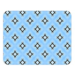 Cute Pretty Elegant Pattern Double Sided Flano Blanket (large)