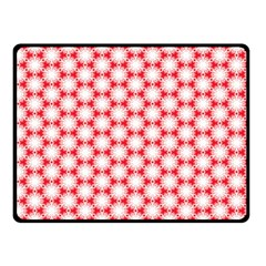 Cute Pretty Elegant Pattern Double Sided Fleece Blanket (small)  by creativemom