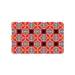 Cute Pretty Elegant Pattern Magnet (Name Card) by creativemom