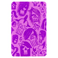 Purple Skull Sketches Kindle Fire (1st Gen) Hardshell Case by ArtistRoseanneJones