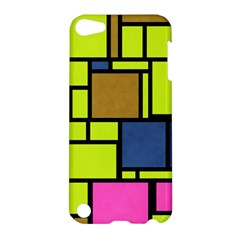 Squares And Rectangles Apple Ipod Touch 5 Hardshell Case by LalyLauraFLM