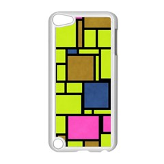 Squares And Rectangles Apple Ipod Touch 5 Case (white) by LalyLauraFLM
