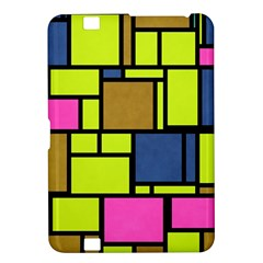 Squares And Rectangles Kindle Fire Hd 8 9  Hardshell Case by LalyLauraFLM