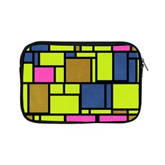 Squares And Rectangles Apple Ipad Mini Zipper Case by LalyLauraFLM