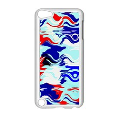 Wavy Chaos Apple Ipod Touch 5 Case (white) by LalyLauraFLM