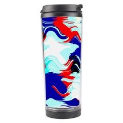 Wavy Chaos Travel Tumbler