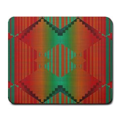 Striped Tribal Pattern Large Mousepad by LalyLauraFLM