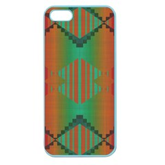 Striped Tribal Pattern Apple Seamless Iphone 5 Case (color) by LalyLauraFLM