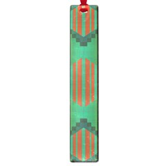 Striped Tribal Pattern Large Book Mark by LalyLauraFLM