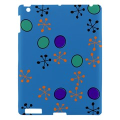 Circles And Snowflakes Apple Ipad 3/4 Hardshell Case by LalyLauraFLM
