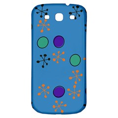 Circles And Snowflakes Samsung Galaxy S3 S Iii Classic Hardshell Back Case by LalyLauraFLM