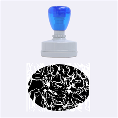 Soul Colour Rubber Oval Stamps by InsanityExpressedSuperStore