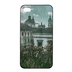 Colonial Architecture At Historic Center Of Bogota Colombia Apple Iphone 4/4s Seamless Case (black) by dflcprints