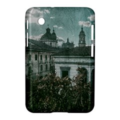 Colonial Architecture At Historic Center Of Bogota Colombia Samsung Galaxy Tab 2 (7 ) P3100 Hardshell Case  by dflcprints