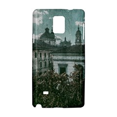Colonial Architecture At Historic Center Of Bogota Colombia Samsung Galaxy Note 4 Hardshell Case by dflcprints