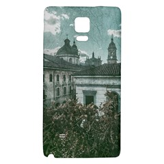 Colonial Architecture At Historic Center Of Bogota Colombia Galaxy Note 4 Back Case by dflcprints