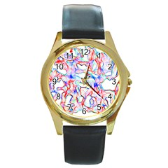 Soul Colour Light Round Gold Metal Watches by InsanityExpressedSuperStore
