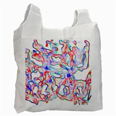 Soul Colour Light Recycle Bag (two Side)  by InsanityExpressedSuperStore