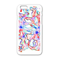 Soul Colour Light Apple Iphone 6 White Enamel Case by InsanityExpressedSuperStore